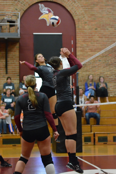 3rd 9/27/14 - VB VCSU Triangular Photo
