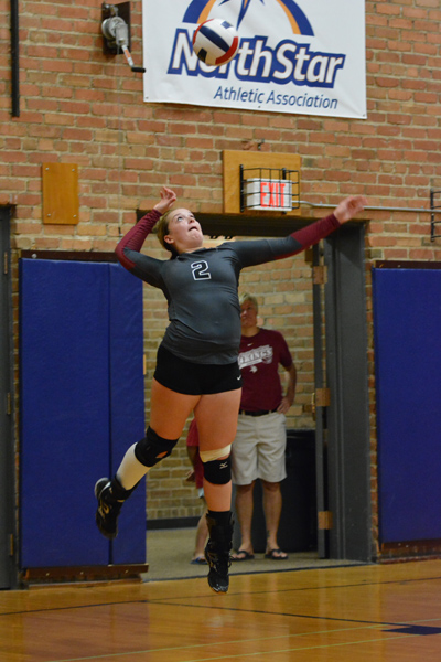 5th 9/27/14 - VB VCSU Triangular Photo