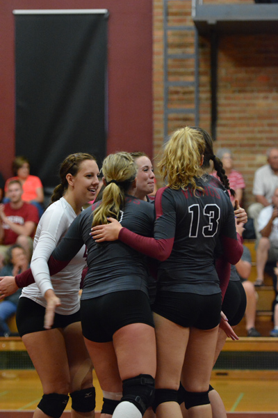 9th 9/27/14 - VB VCSU Triangular Photo