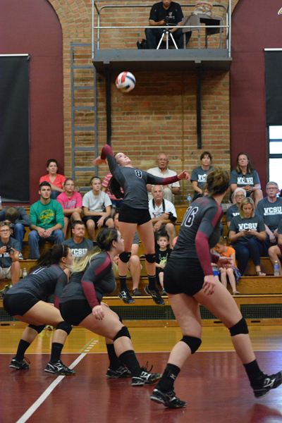 15th 9/27/14 - VB VCSU Triangular Photo