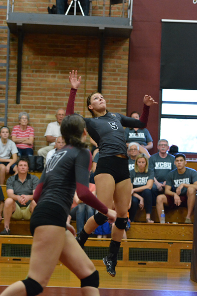 21st 9/27/14 - VB VCSU Triangular Photo