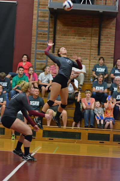 24th 9/27/14 - VB VCSU Triangular Photo