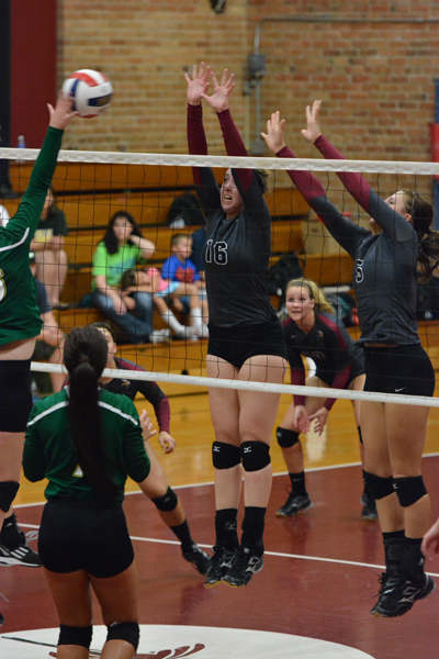 43rd 9/27/14 - VB VCSU Triangular Photo