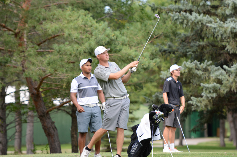 18th 8/31/16 Men's Golf at Jamestown Photo
