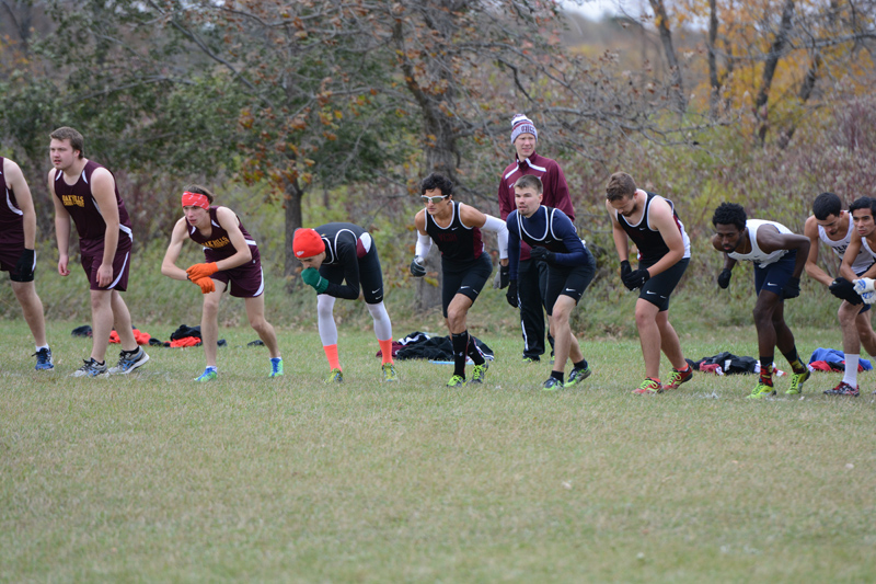 1st 10/7/16: Men's XC at Jamestown Photo