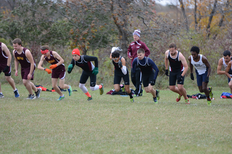 3rd 10/7/16: Men's XC at Jamestown Photo