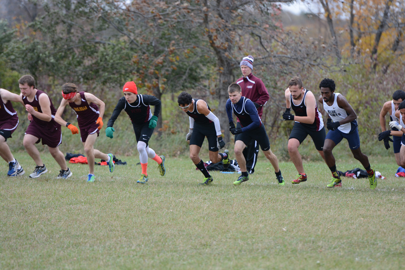4th 10/7/16: Men's XC at Jamestown Photo