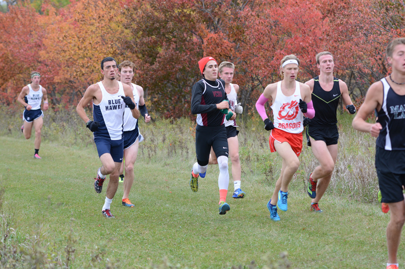 9th 10/7/16: Men's XC at Jamestown Photo