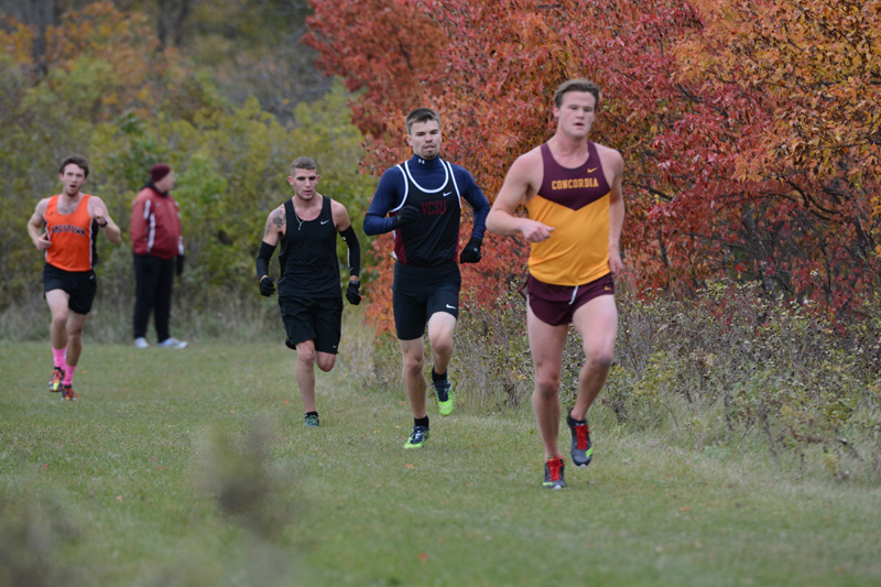 24th 10/7/16: Men's XC at Jamestown Photo