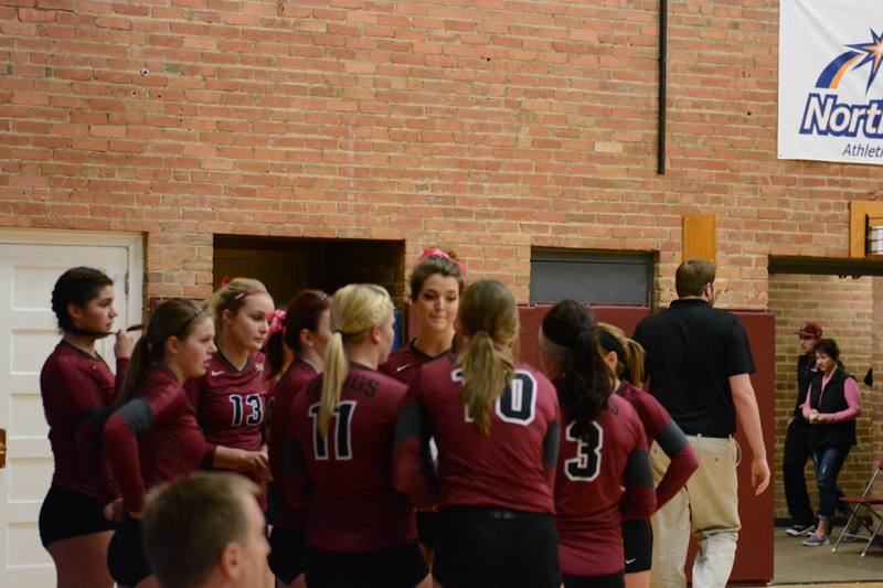 1st 10/29/2016 Volleyball Senior Day Photo