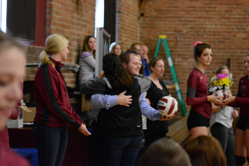4th 10/29/2016 Volleyball Senior Day Photo