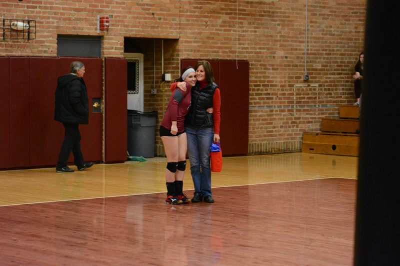 5th 10/29/2016 Volleyball Senior Day Photo