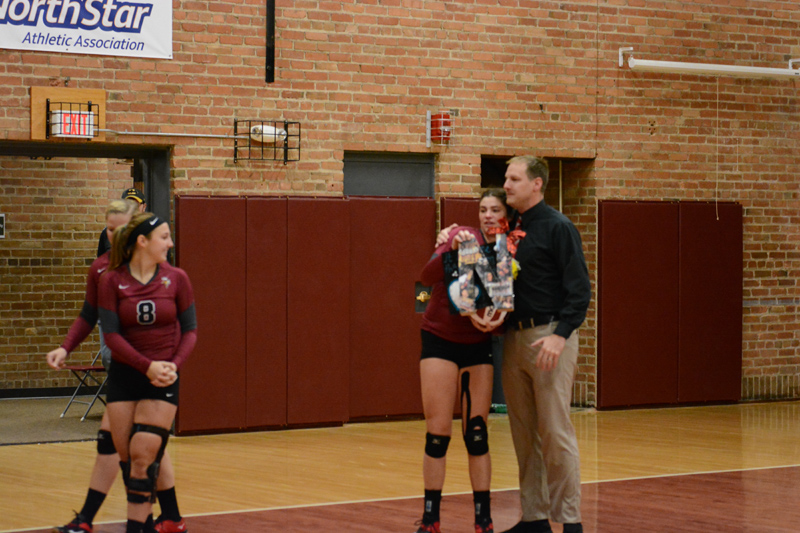 13th 10/29/2016 Volleyball Senior Day Photo