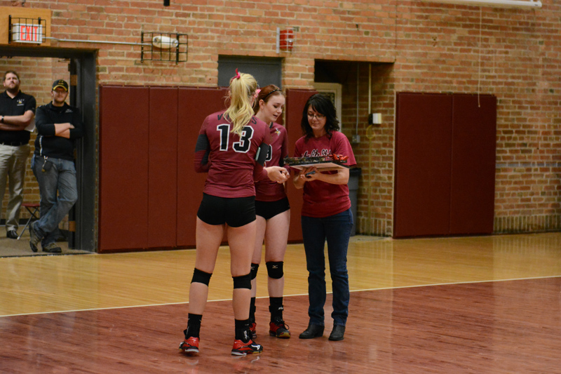 16th 10/29/2016 Volleyball Senior Day Photo