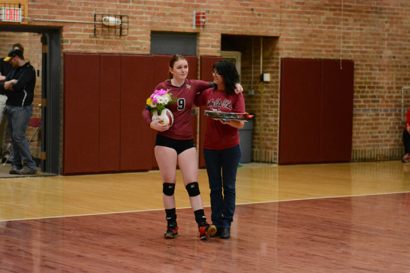 19th 10/29/2016 Volleyball Senior Day Photo