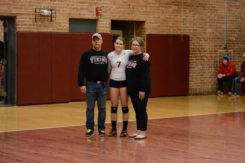 23rd 10/29/2016 Volleyball Senior Day Photo