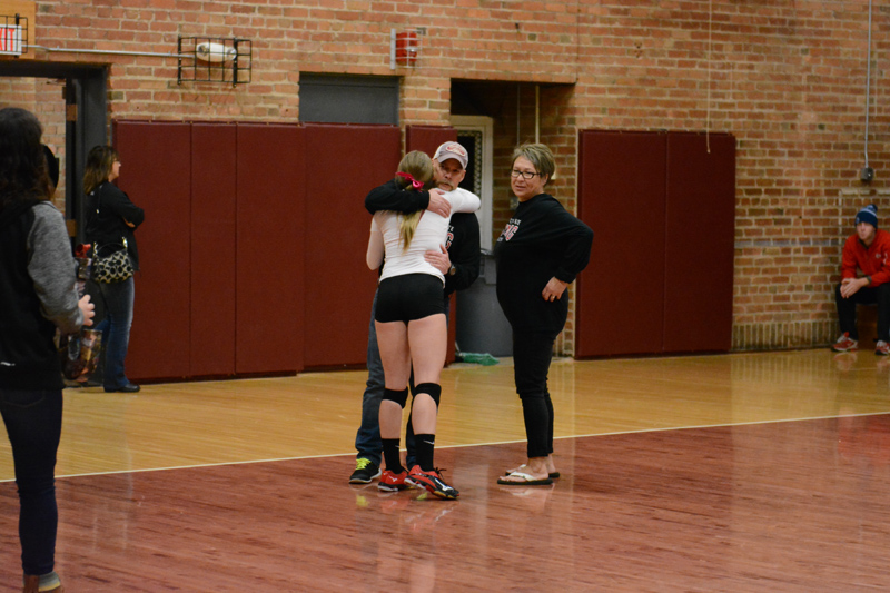 26th 10/29/2016 Volleyball Senior Day Photo