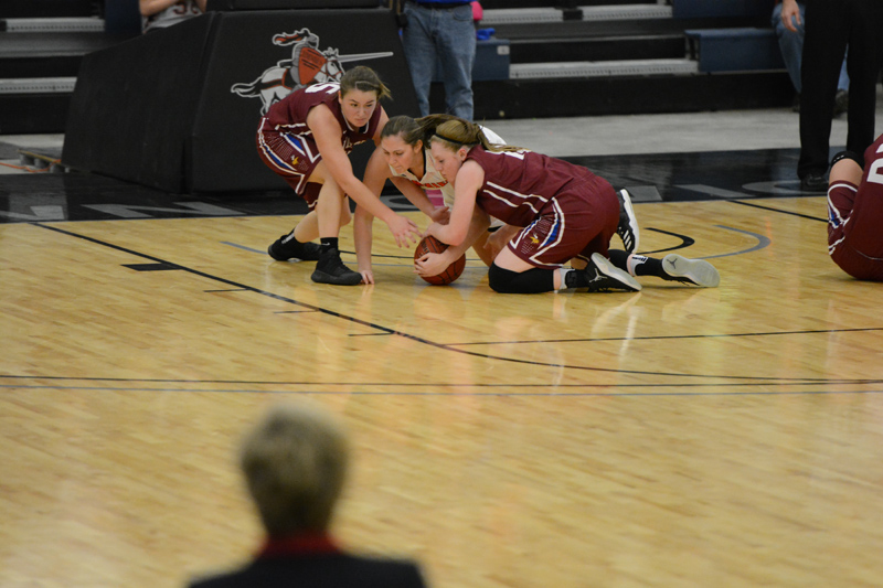 3rd 1/7/17 - Women's BB at Jamestown Photo