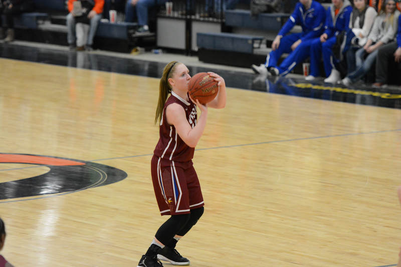 6th 1/7/17 - Women's BB at Jamestown Photo