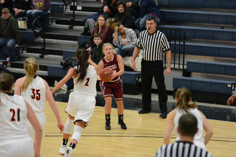8th 1/7/17 - Women's BB at Jamestown Photo