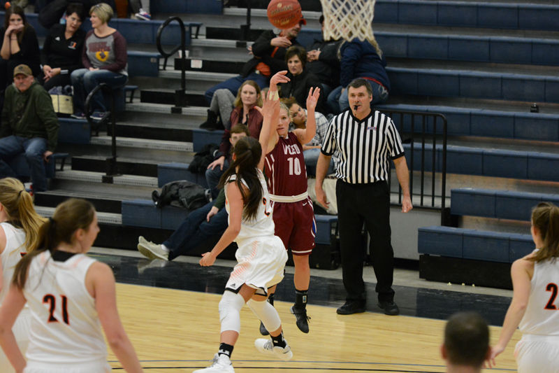9th 1/7/17 - Women's BB at Jamestown Photo