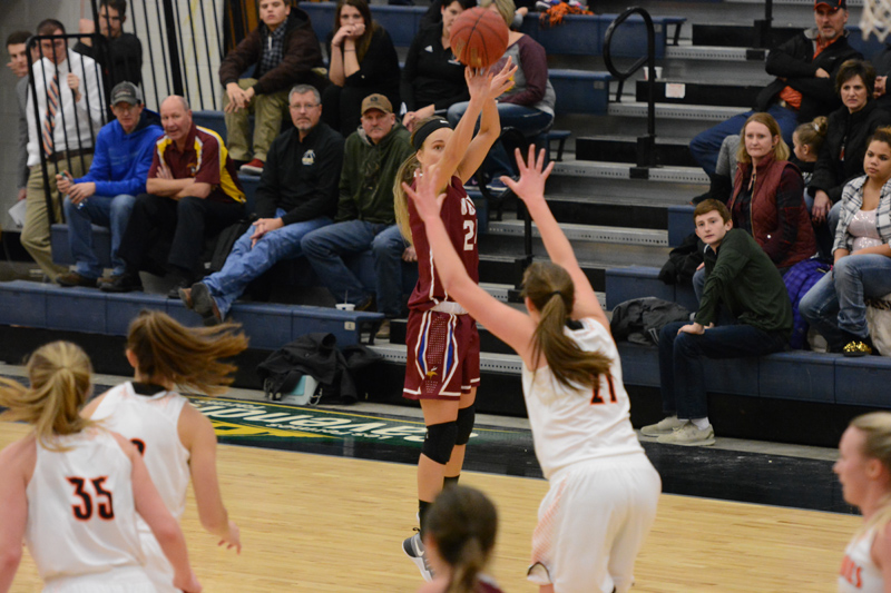 18th 1/7/17 - Women's BB at Jamestown Photo