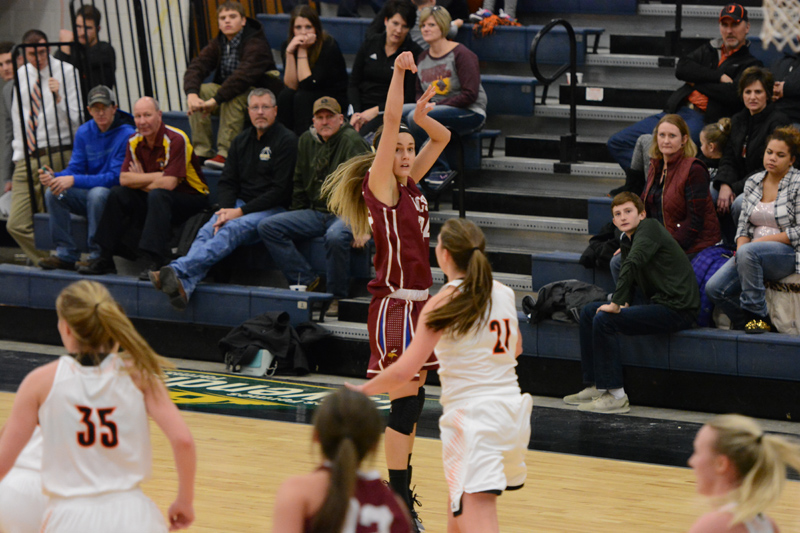 19th 1/7/17 - Women's BB at Jamestown Photo