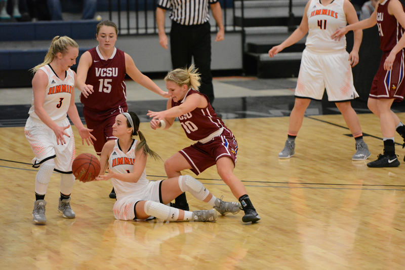 21st 1/7/17 - Women's BB at Jamestown Photo