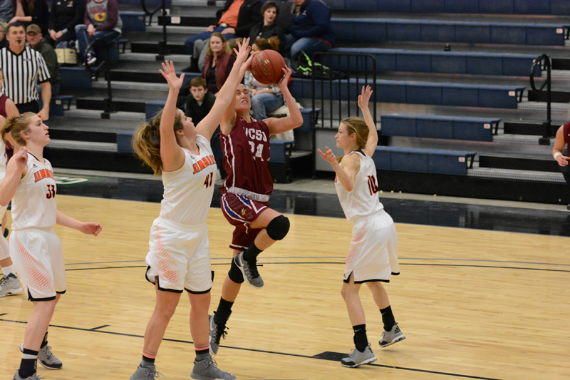 24th 1/7/17 - Women's BB at Jamestown Photo