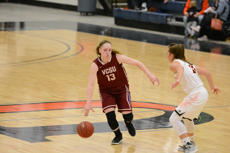25th 1/7/17 - Women's BB at Jamestown Photo