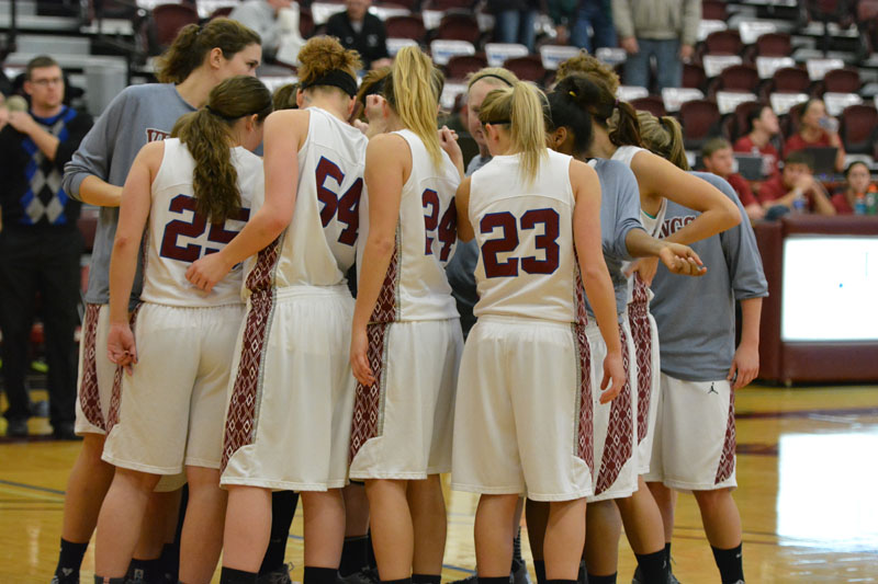 3rd 12/8/14 - WBB vs Crown College Photo