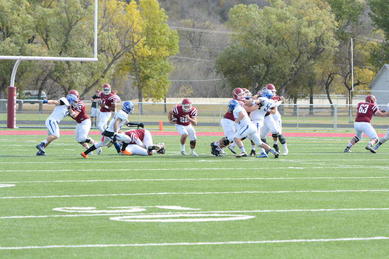 2nd 10/10/15 - Football vs Dakota State Photo