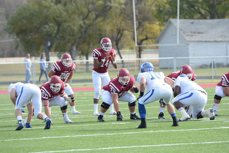 3rd 10/10/15 - Football vs Dakota State Photo