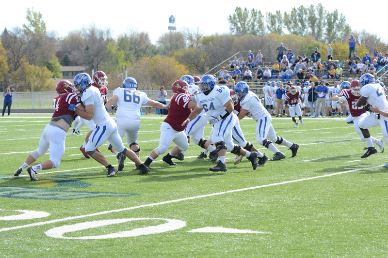 6th 10/10/15 - Football vs Dakota State Photo