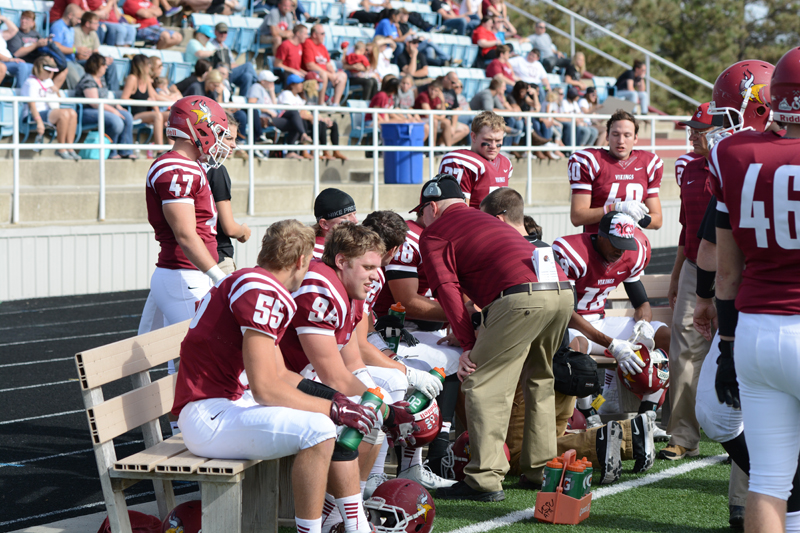 9th 10/10/15 - Football vs Dakota State Photo