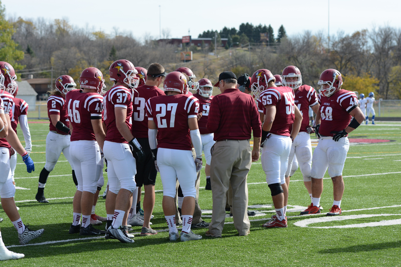 11th 10/10/15 - Football vs Dakota State Photo