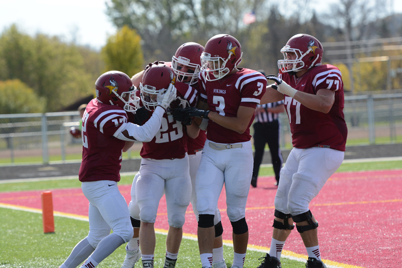 17th 10/10/15 - Football vs Dakota State Photo
