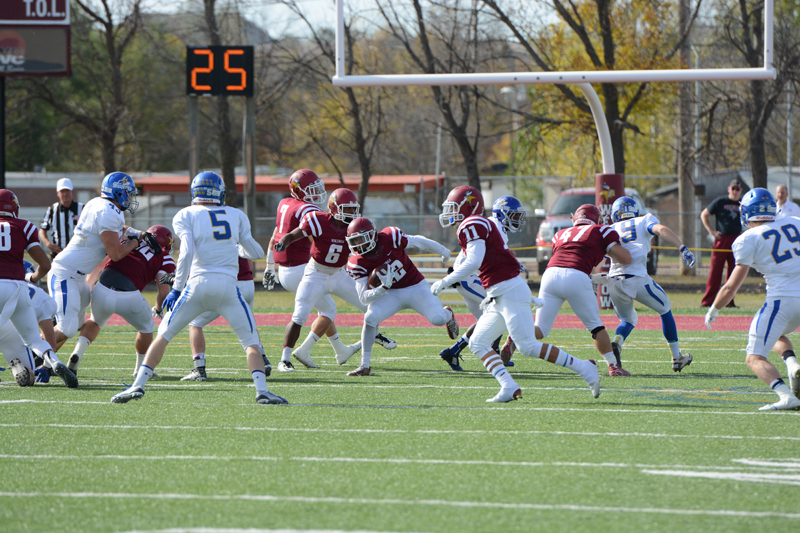 20th 10/10/15 - Football vs Dakota State Photo