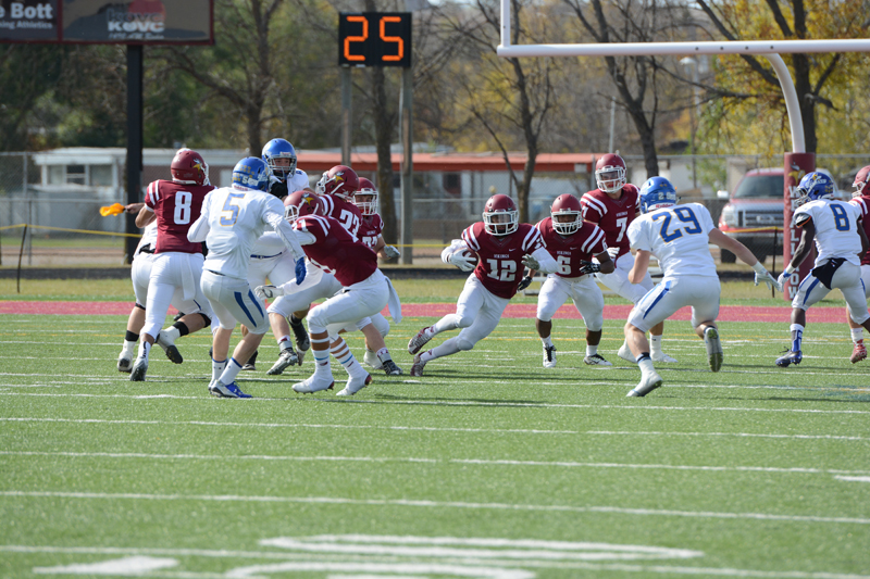 21st 10/10/15 - Football vs Dakota State Photo