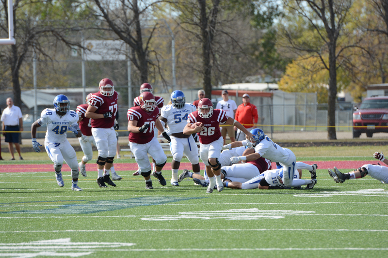22nd 10/10/15 - Football vs Dakota State Photo