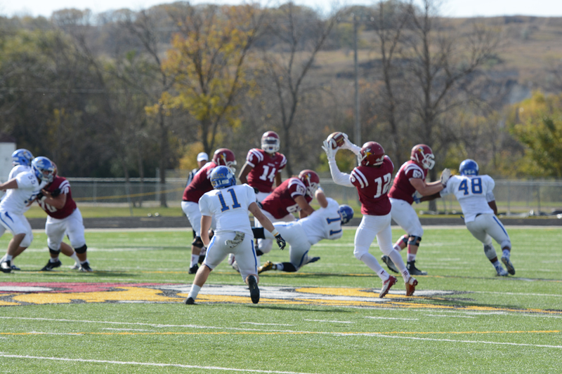 25th 10/10/15 - Football vs Dakota State Photo