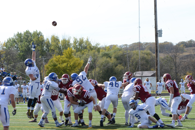 27th 10/10/15 - Football vs Dakota State Photo