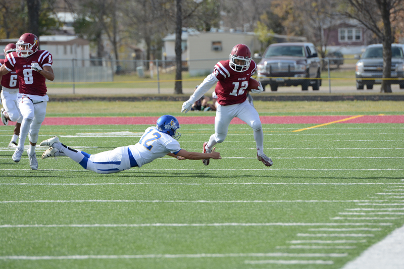 32nd 10/10/15 - Football vs Dakota State Photo