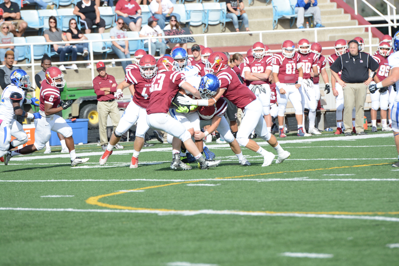38th 10/10/15 - Football vs Dakota State Photo