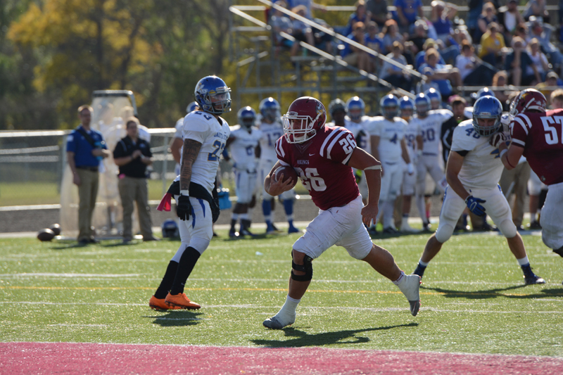 42nd 10/10/15 - Football vs Dakota State Photo