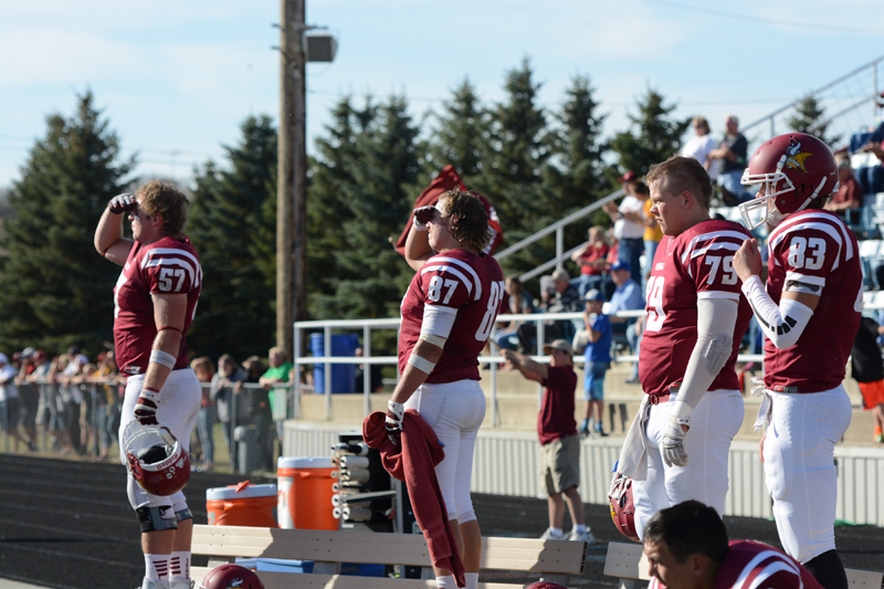 45th 10/10/15 - Football vs Dakota State Photo