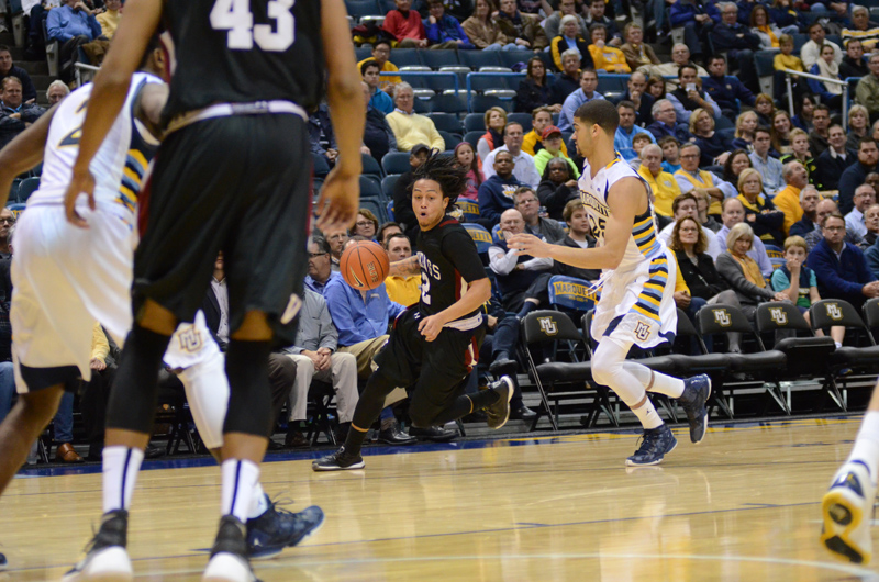 12th 11/9/15 - MBB at Marquette (Credit: Ricky Bassman) Photo