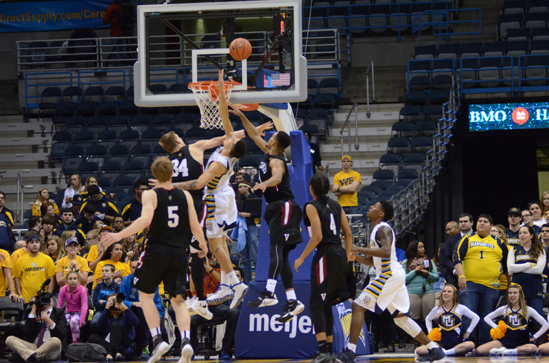 32nd 11/9/15 - MBB at Marquette (Credit: Ricky Bassman) Photo