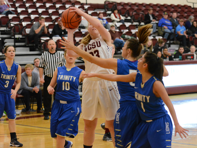 25th Women's Basketball vs Trinity Bible College Photo