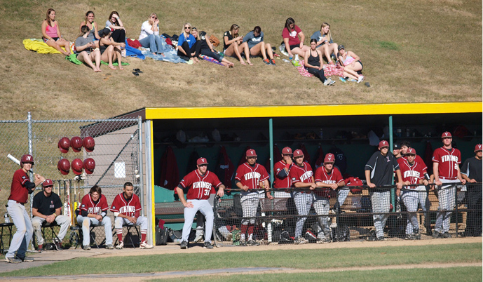 The VCSU baseball team posted an 8-3 record this fall.